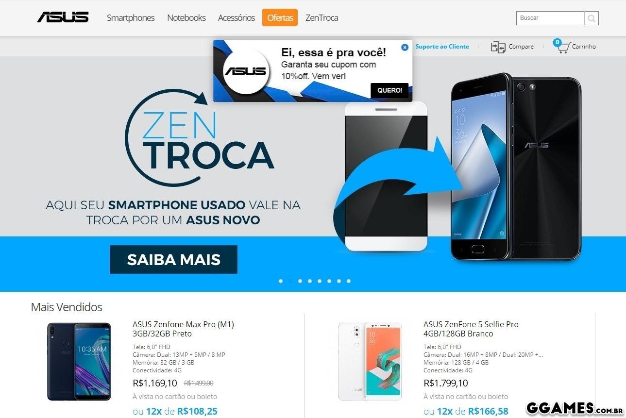 5bd4d48ac A loja oficial da ASUS é confiável  Comprei um combo Celular + ...