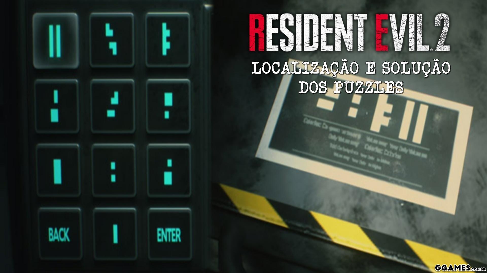 Guia Dos Puzzles De Resident Evil 2 Remake Dicas E Detonados