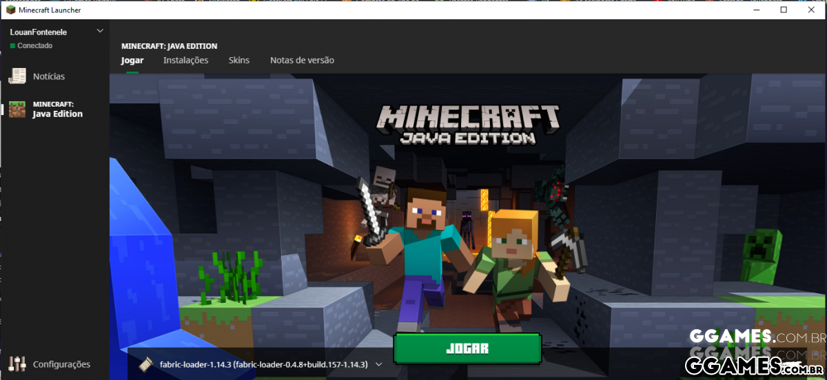 Como usar skin em um server pirata no Minecraft usando o