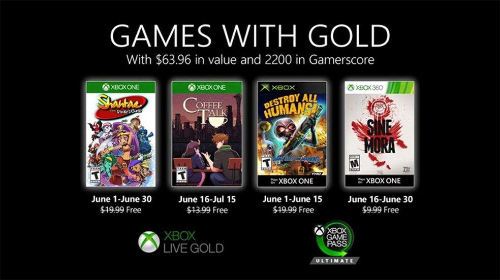 Shantae e Destroy All Humans! ficam grátis na Xbox Live Gold de junho