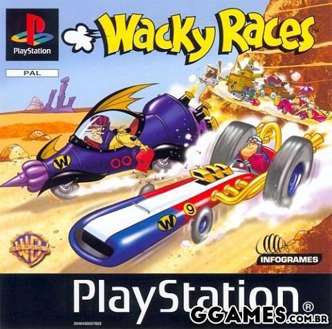 Tradução Wacky Races (Corrida Maluca) PT-BR [PS1]