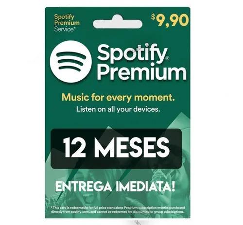 Conta Spotify  Premium - 12 Meses