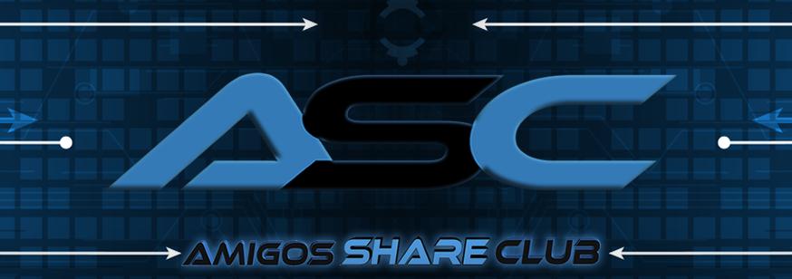 Convite AMIGOS SHARE CLUB!
